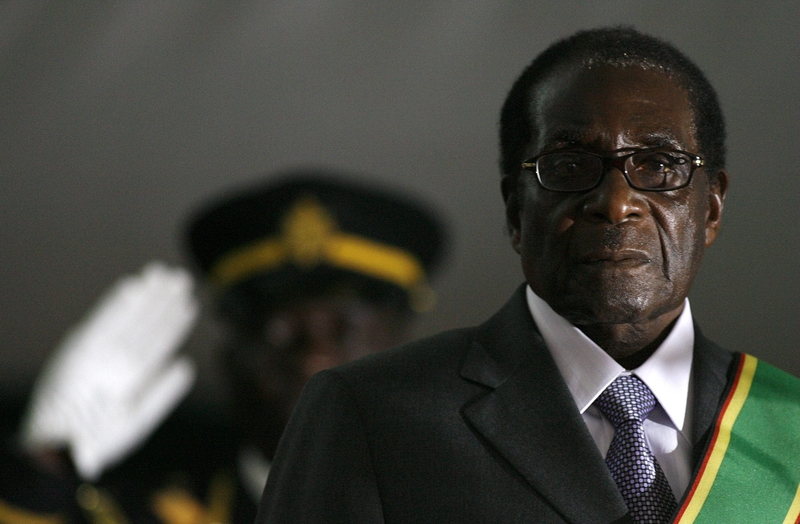 Mugabe during his swearing-in for a sixth term as president in 2008 (Image: Lehtikuva)