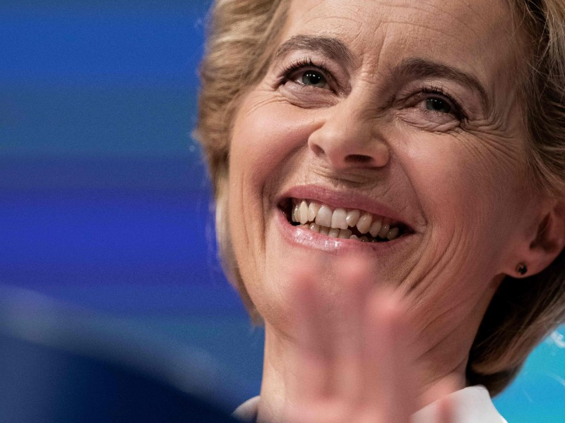 Ursula von der Leyen, the president-designate of the European Commission, has said she will propose the introduction of an EU-wide statutory minimum wage. (Kenzo Tribouillard – AFP/Lehtikuva)