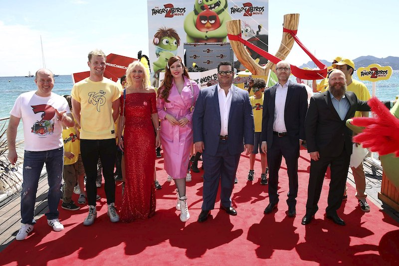 Rovio celebrated Angry Bird 2 movie launch in Cannes