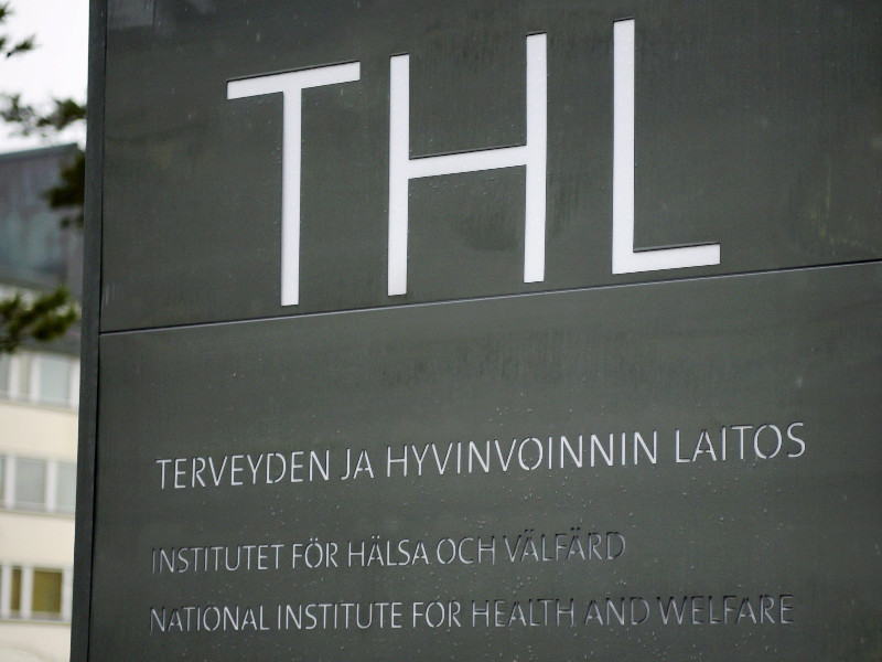 The Finnish Institute for Health and Welfare's (THL) head office in Helsinki on 11 March 2020. (Antti Aimo-Koivisto – Lehtikuva)