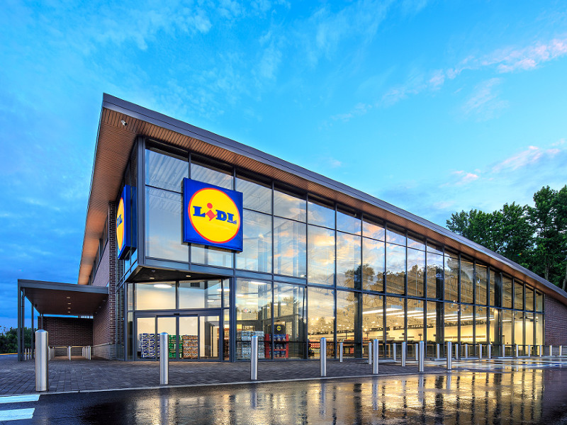 A Lidl shop in the United States. (Handout / David Keith – Lidl)