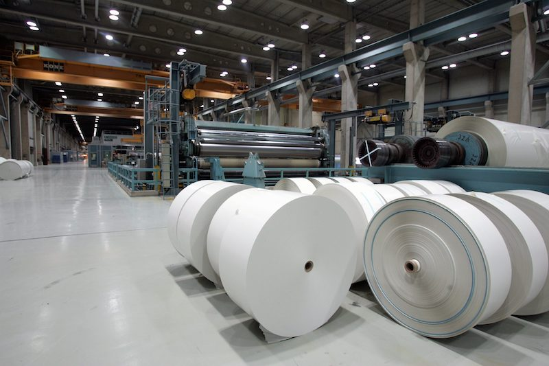 Inside the Kaipola paper mill, owned by UPM (Image: Lehtikuva)