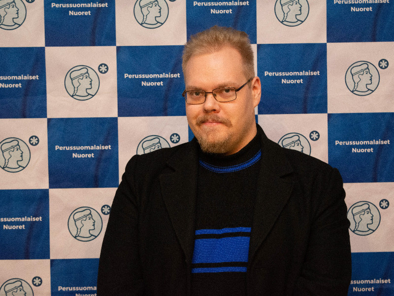 Toni Jalonen on Tuesday said he has submitted his letter of resignation as the second deputy chairperson of the Finns Party Youth. (Matias Rantala – Lehtikuva)