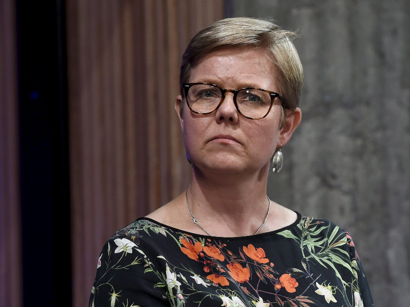 Krista Mikkonen (Greens), the Minister of Climate and the Environment, says the government must make haste with the mining act reform it outlined in its action plan. (Emmi Korhonen – Lehtikuva)