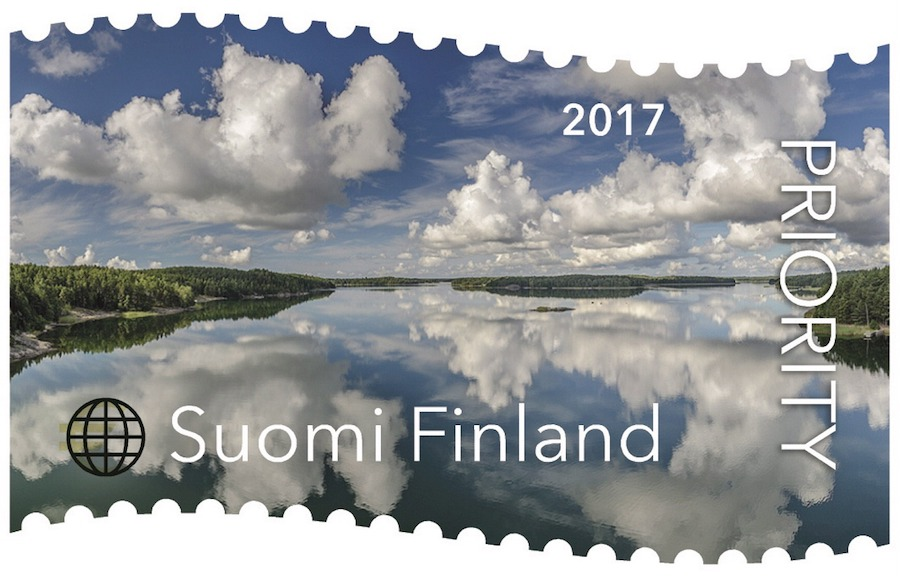 The 'calm and tranquil' stamp won the prize for best stamp in the world between 2013-2017 (Image: Lehtikuva)