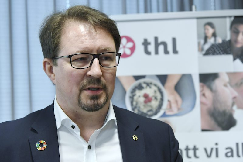 Mr Mika Salminen, The director of health safety at Finnish Institute for Health and Welfare (THL ) / Lehtikuva