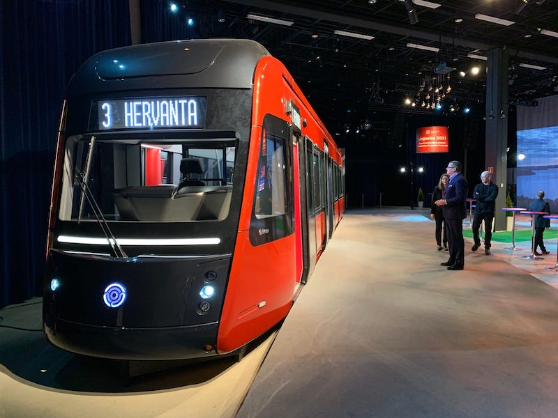 A sneak peek at one of Tampere's first trams (Image: Lehtikuva)