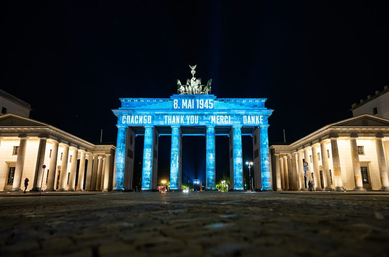 A shot of Berlin's Brandenburg Gate earlier this month (Image: Lehtikuva)