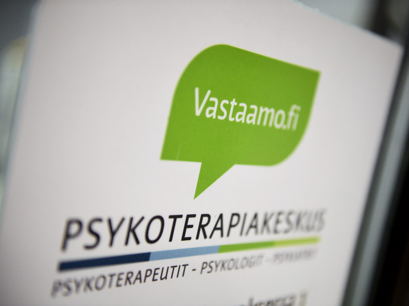 An office of Psychotherapy Centre Vastaamo in Malmi, Helsinki, on 26 October 2020. (Emmi Korhonen – Lehtikuva)