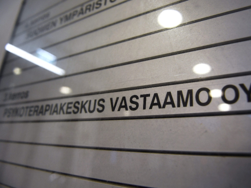 Psychotherapy Centre Vastaamo recently announced its database was hacked almost two years ago, possibly compromising the personal privacy of tens of thousands of its clients. (Emmi Korhonen – Lehtikuva)