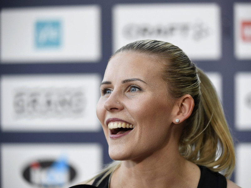 "Kristiina Mäkelä, who specialises in triple jump, is one of several top athletes to speak out against sexual harassment. ""Harassing messages have increased in recent years partly, I'm sure, because of how common it's to use social media and Instagram. Social media is no longer a thing only for young people,"" she said to YLE on Tuesday. (Heikki Saukkomaa – Lehtikuva)"