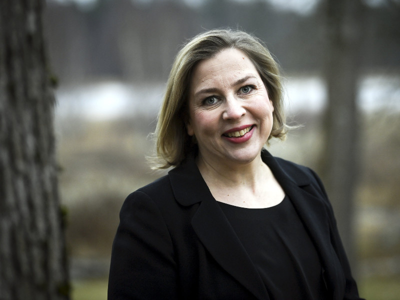 Tytti Yli-Viikari, the director of the National Audit Office (VTV), has recently come under scrutiny for her spending and leadership style during her five-year tenure at the helm of VTV. (Emmi Korhonen – Lehtikuva)